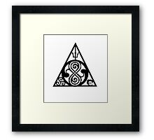 Fandoms Framed Print