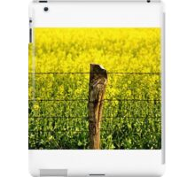 Fence Post iPad Case/Skin