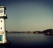 Lighthouse in the park. by Anthony Thomas