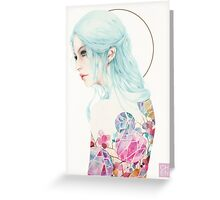 Madmoiselle Greeting Card
