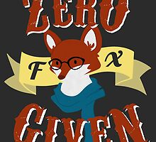 Zero Fox Given by Michaela Kershaw