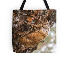 Cicada Exoskeleton Side Tote Bag