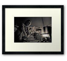 Nomad Girl Framed Print