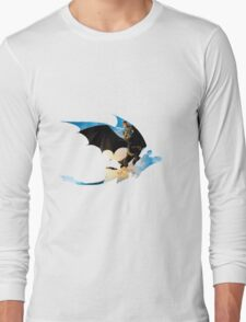 Toothless's Shadow Long Sleeve T-Shirt