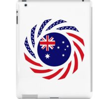 Australian American Multinational Patriot Flag Series iPad Case/Skin
