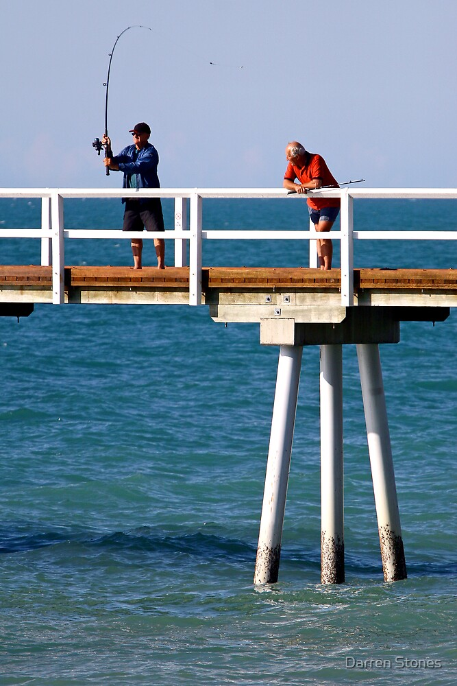 Fishing at Hervey Bay by Darren Stones