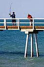 Fishing at Hervey Bay by Darren Stones