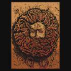 CELTIC GORGAN MAN SNAKEHEAD by Larry Butterworth