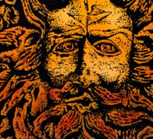 CELTIC GORGAN MAN SNAKEHEAD Sticker