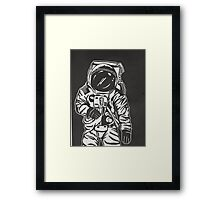 Moon Man Framed Print