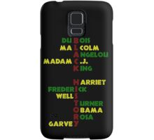 BLACK HISTORY  Samsung Galaxy Case/Skin