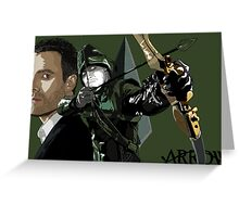"""""""My Name is Oliver Queen"""" Greeting Card"""