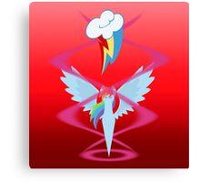 Magic Circle: Rainbow Dash Canvas Print