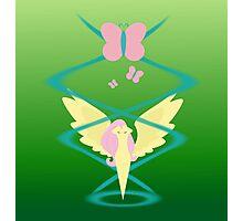 Magic Circle: Fluttershy Photographic Print