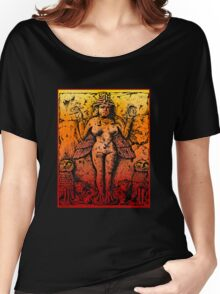 Lillith Goddess of Death Queen of the NIght Women's Relaxed Fit T-Shirt