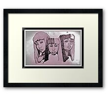 Nicki Minaj Framed Print