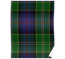00403 Baron of Greencastle Hunting Tartan Poster