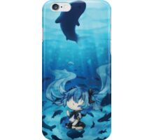 Bottle Miku Chibi iPhone Case/Skin