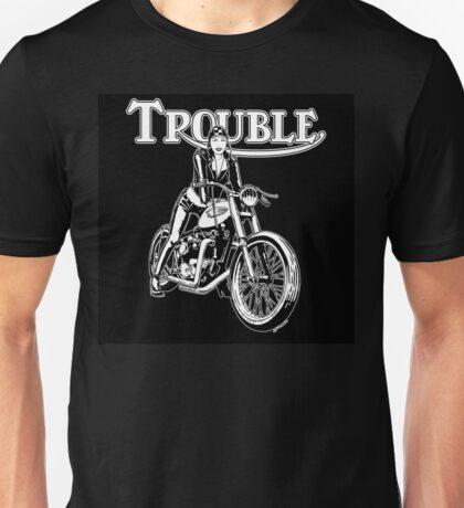 TROUBLE Unisex T-Shirt