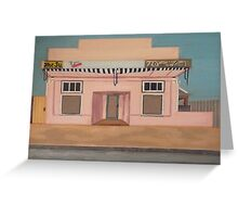 White Structure Greeting Card