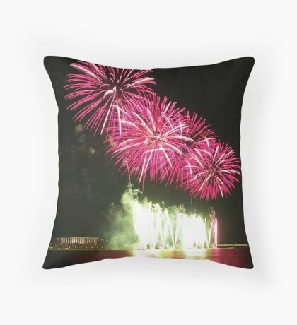 National Library Throw Pillow