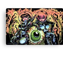 ALIEN EYE & SPACE BABES Canvas Print
