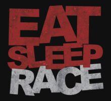 Eat Sleep Race One Piece - Short Sleeve