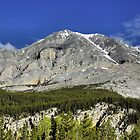 Folded Mountain, Canada by Don Siebel