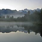 Lake Matheson by Darqfyre