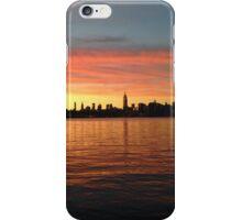 Sunset in Williamsburg, Brooklyn Waterfront iPhone Case/Skin