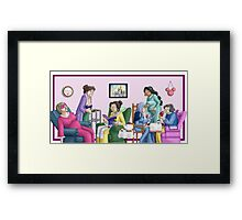 Princess Retirement Framed Print