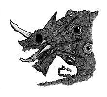 Psychedelic Demon Photographic Print
