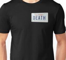 government plates - death grips Unisex T-Shirt
