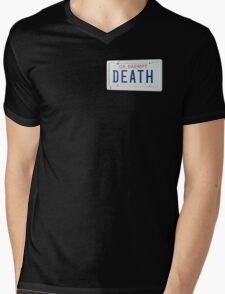 government plates - death grips Mens V-Neck T-Shirt