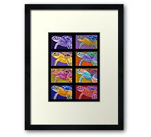 Party of Eight Framed Print