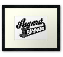 Asgard Hammer Framed Print
