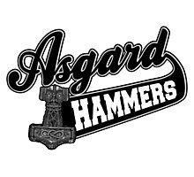 Asgard Hammer Photographic Print