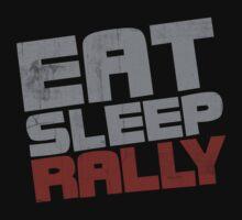 Eat Sleep Rally One Piece - Short Sleeve