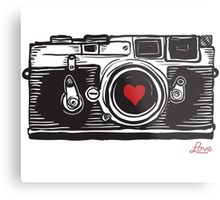 Leica Love! Metal Print