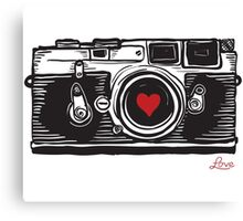 Leica Love! Canvas Print