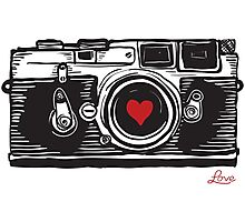 Leica Love! Photographic Print