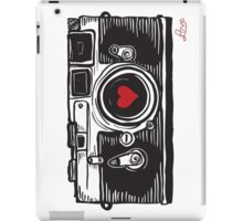 Leica Love! iPad Case/Skin