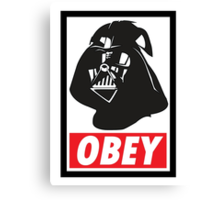 OBEY Vader Canvas Print