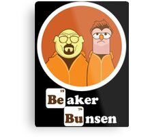 Beaker Bunsen Breaking Bad Metal Print