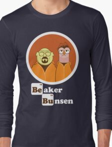 Beaker Bunsen Breaking Bad Long Sleeve T-Shirt