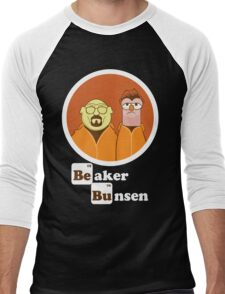 Beaker Bunsen Breaking Bad Men's Baseball ¾ T-Shirt