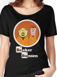 Beaker Bunsen Breaking Bad Women's Relaxed Fit T-Shirt