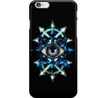 EVIL EYE WITH CHAOS STAR iPhone Case/Skin