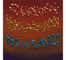 Metal abstract Photographic Print