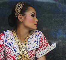 erawan temple dancer  by JonStone